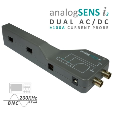 ±100A AC/DC 200kHz Dual Channel Current Probe