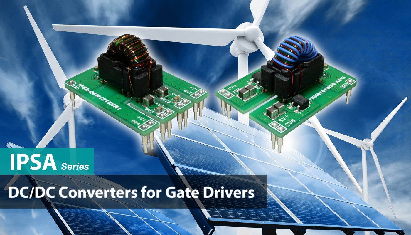 Dc Converters Taraz Technologies Multi Output To Converter Isolated For Gate Driver Applications Ipsa