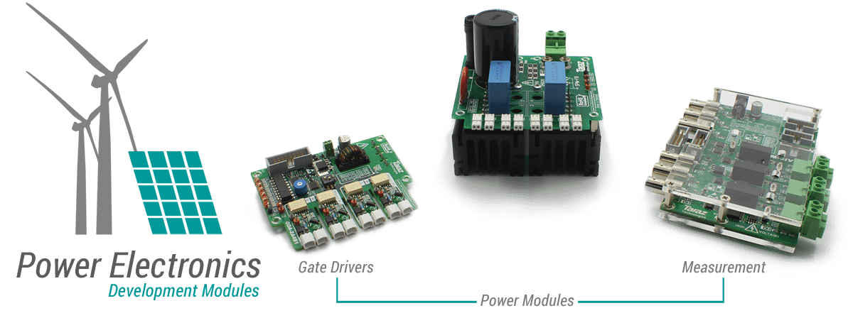 Power Electronics Development Modules for fast prototyping