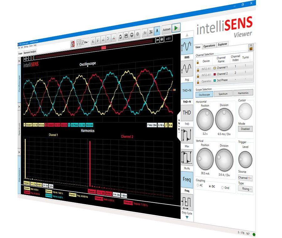 intellisens smart probes software
