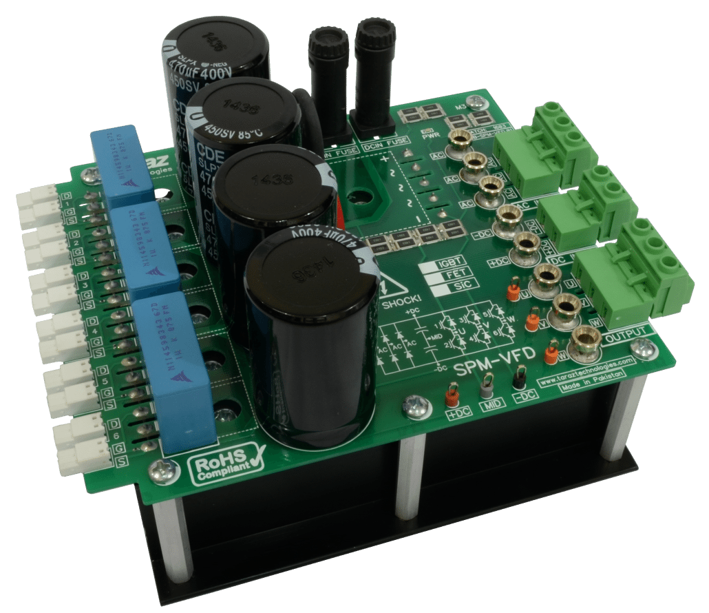 Spm Vfd 3 Phase Inverter Power Module Bridge Motor Control With Mosfets Development Kit Mppt Kits Solar