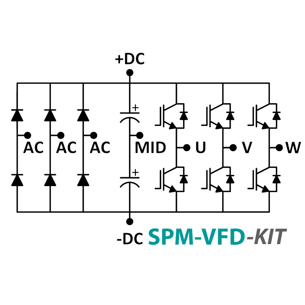 Spm Vfd Kit 3 Phase Inverter Power Module With Gate Driver Circuit Diagram To Voltage Before Is Purpose