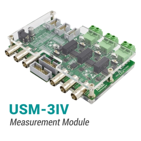 Isolated measurement module for current and voltage sensing