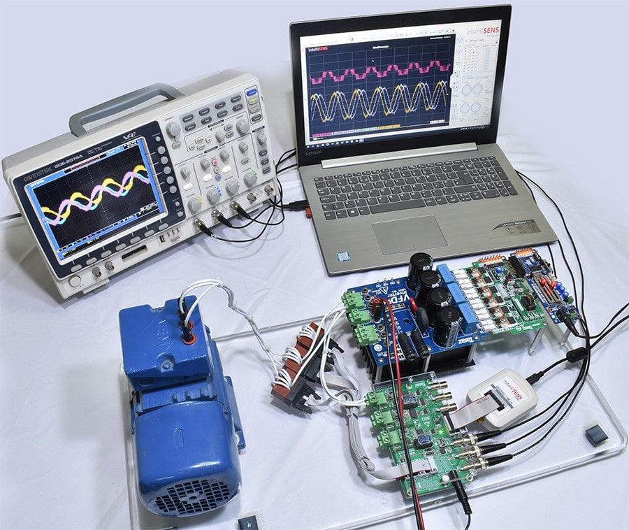 Set up for power quality & harmonics analysis