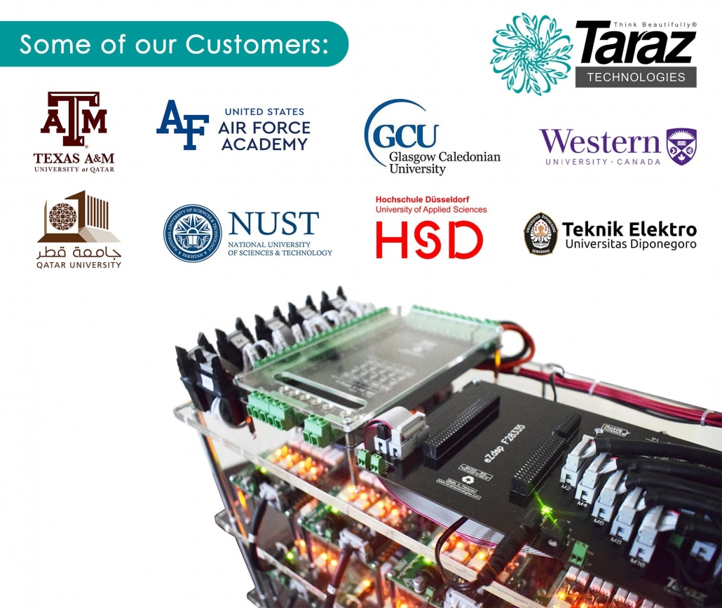 Taraz Technologies Customers