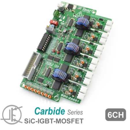 GDC-2A6S1 SiC Gate Driver Module Board