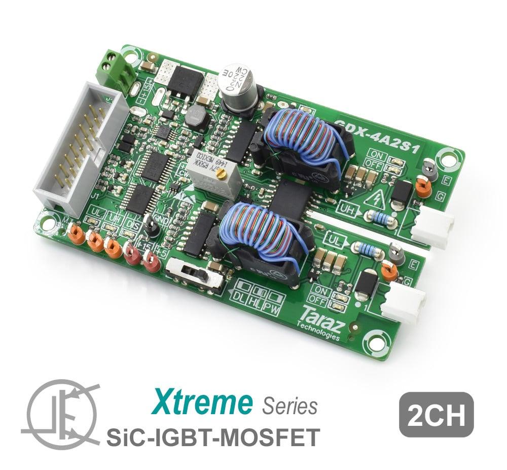 GDX-4A2S1 SiC Gate Driver Module Board