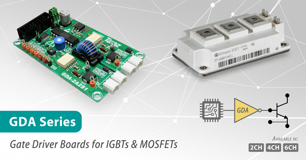 GDA Series IGBT Gate Driver Modules