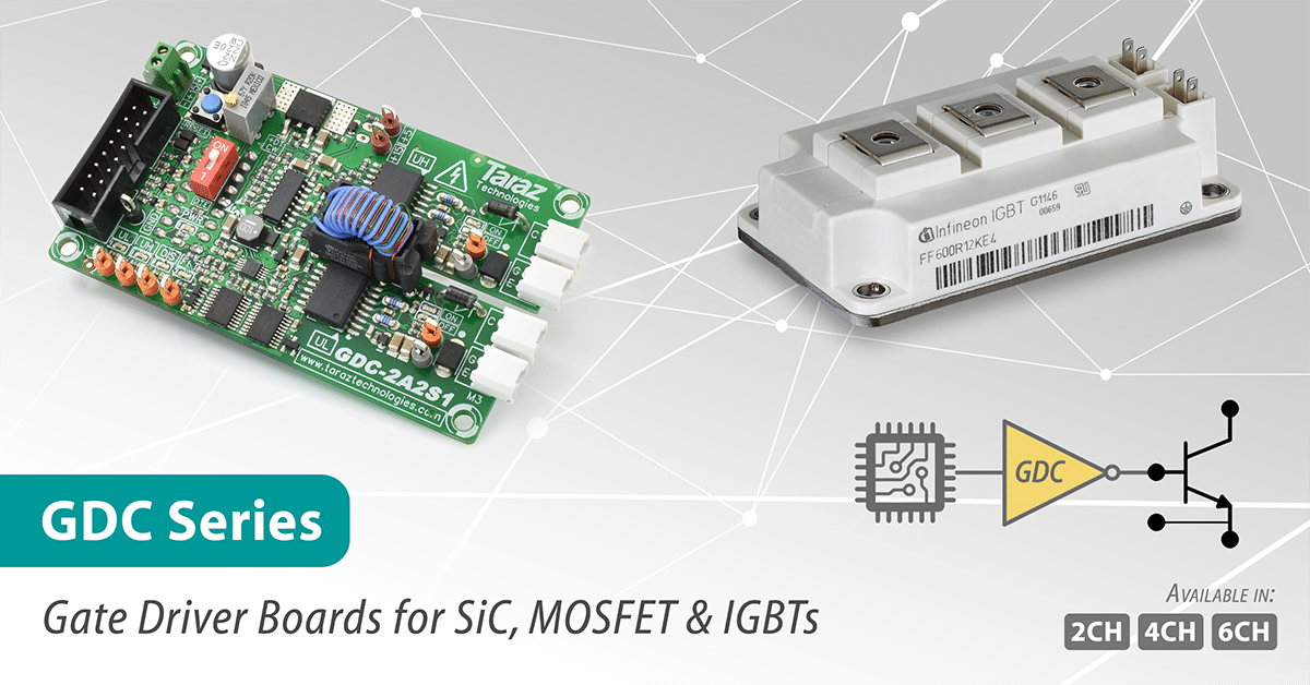 GDC Series SiC Gate Driver Modules