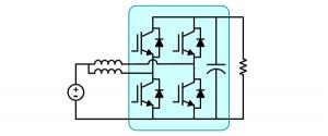 Interleaved Boost MPPT converter using full bridge kit block