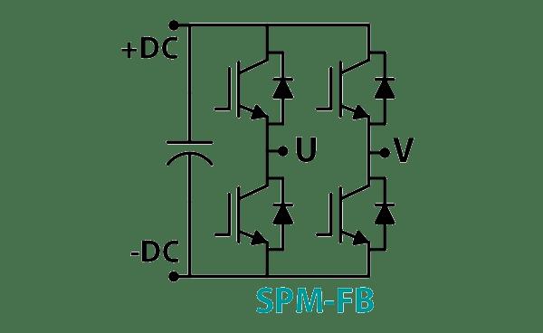 SPM-FB Full Bridge Inverter Development Kit Schematic