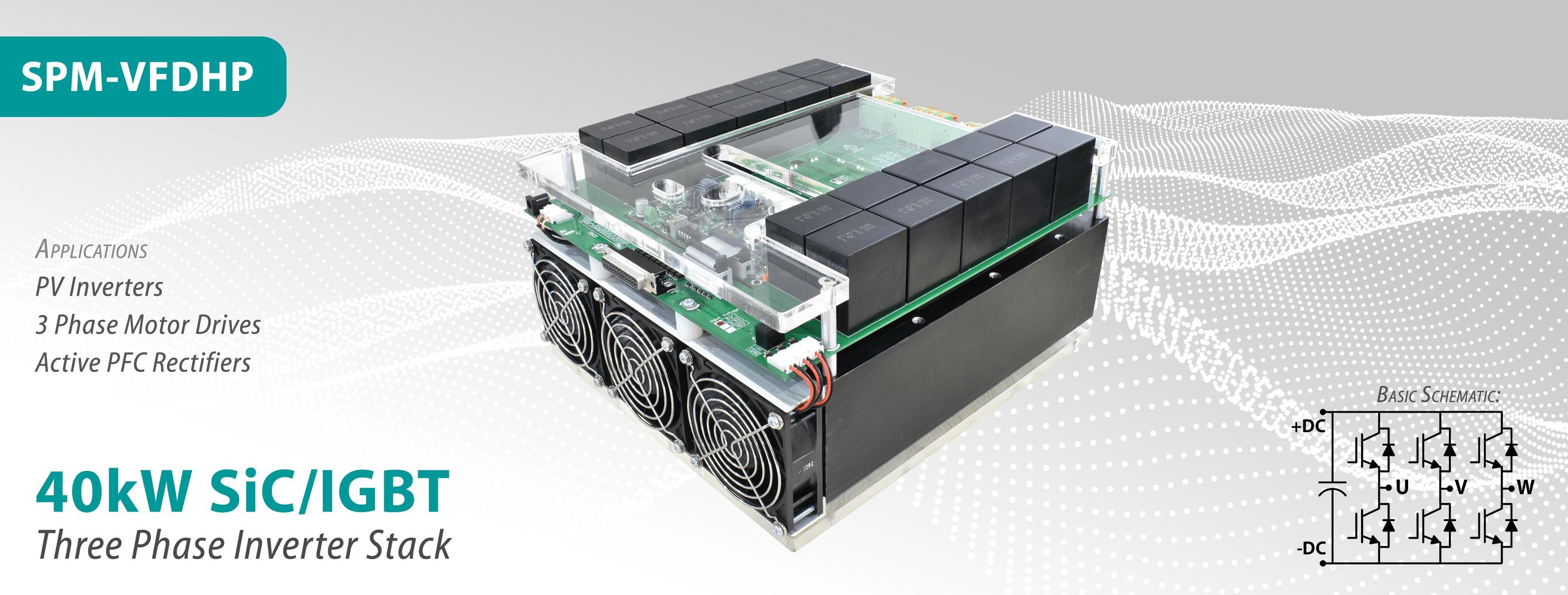 SPM-VFDHP High Power 3 Phase Inverter Stack Released