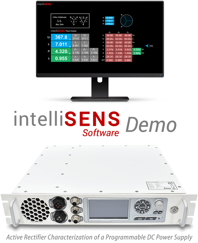 intelliSENS Software Demo