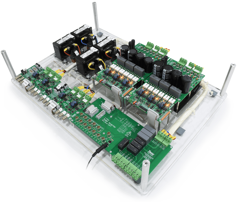3 Phase Grid-Tie Solar Inverter System